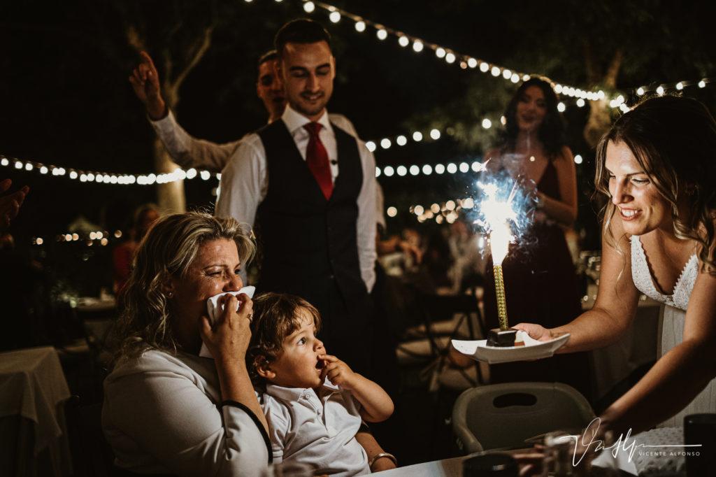 Fiesta de cumpleaños en bodas